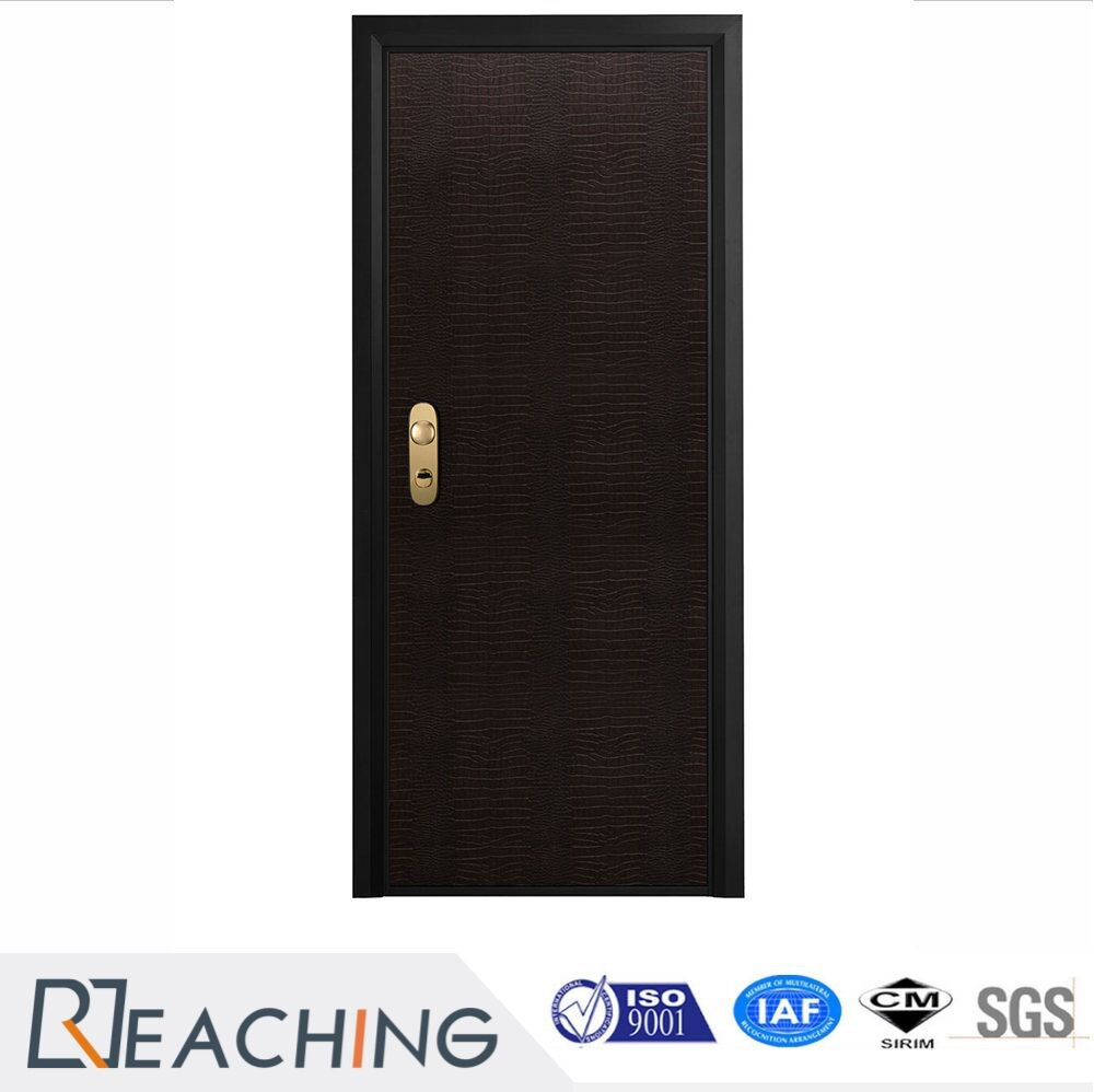 Beautiful Wood Grain Water Proof PVC Door Factory