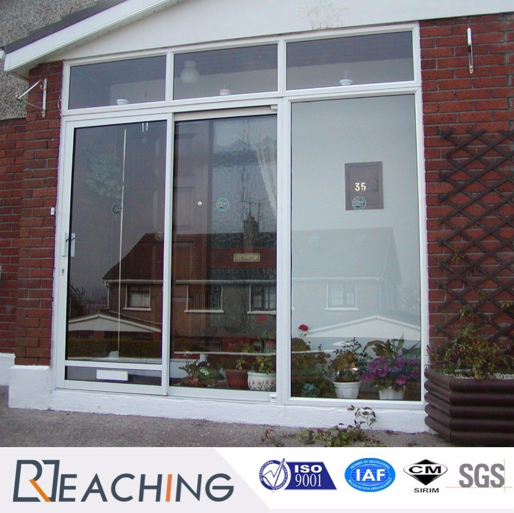 High Aluminum Tempered Glass Windows and Doors for Villa Project