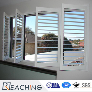 Custom Made Shutter Window with Adjustale Hardware for Building